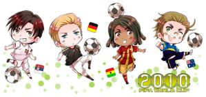 APH: FIFA WC 2010 Group D by fir3h34rt