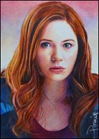 Amy Pond by DavidDeb