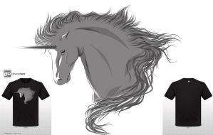 Unicorn tshirt by yasmay