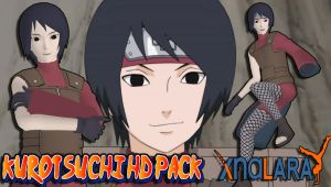 Naruto Custom Model - Kurotsuchi HD Pack FOR XPS! by MVegeta