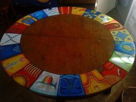 mayan table by tuurba