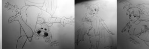 October sketches by MR-CREEPING-DETH