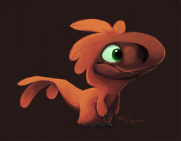 Dino Painting by sketchinthoughts