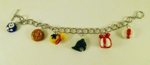 Animal Crossing Charm bracelet by Crazy8zCharmz