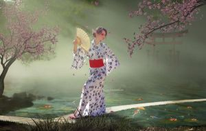 Geisha Dream by TitusBoy25