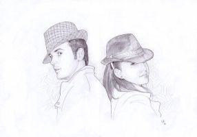 Luca and Sara by COR-Illustrations