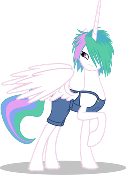 Celestia Punk by UP1TER