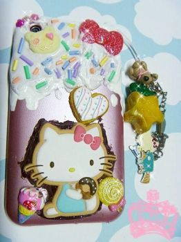 Melty Hello Kitty iPhone case by ImperfectKawaii