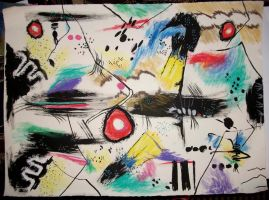 Abstract Insect Drawing by kaylamckay