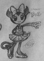 BATIM-Bell the demon(my oc) by Velatina-young