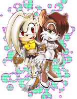 Zahra and Snow: BFF by C2ndy2c1d