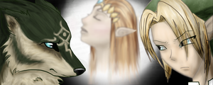 The Legend of Zelda by wolf-drawer-kayla