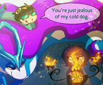 big cold dog by MissButlerArt