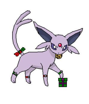 CHRISTMAS GIFT: Whitney's Espeon by pseudorider050