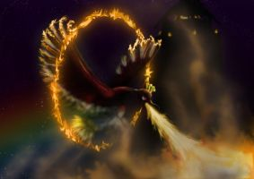 Ho-oh used Sacred Fire by Syrabi