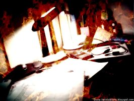 Burning assignments by obliviouslysin