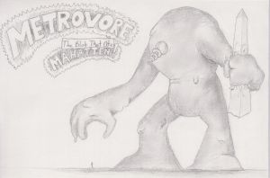 Metrovore, the Blob that ate Manhatten by TheHiddenElephant