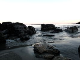 Rocky Shores II by Michayla-Marie