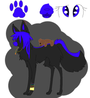 Scene Wolf Adopt! (OPEN) by SNlCKERS