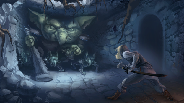 Dungeon Crawler Concept by RGBe