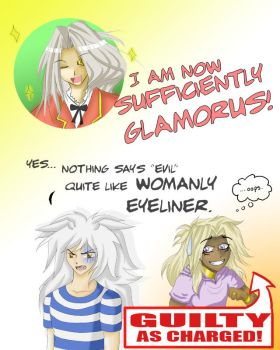 Marik's Got it Covered by rasberryink