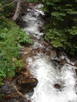 Flowing Stream by Tymuthus