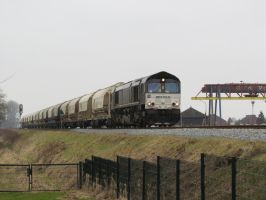 HTRS 653-05 with dolime train by damenster