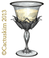 Chalice Silver KL by cactuskim