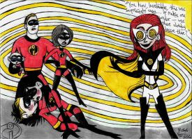 Incredibles - Mezmerella's Twisted Games by Khialat