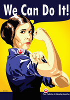 Leia the Riveter by MarceloDZN