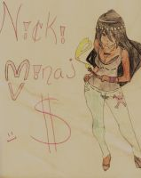 Nicki Minaj by Younglazlorevodavis
