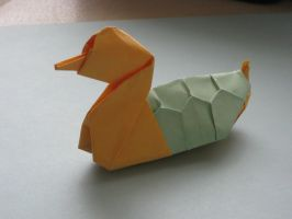 Paper Turtle duck by SaberFireTiger