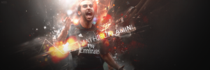 Mathieu Flamini by M1ch3l3