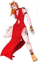 Red Dress Demon by fanchielover15