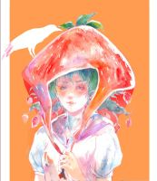 Strawberry by nanshu29