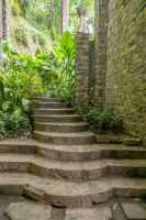 Jungle Castle Stairs Stock by little-spacey