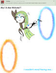 Ask Meloetta #37 by The9Tard