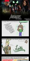 I never do these, but it's the Avengers, sooo by XlolSharksX