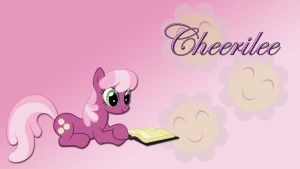 Wallpaper Cheerilee read book by Barrfind