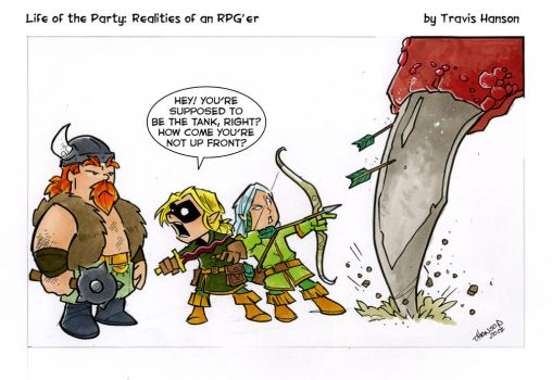 the tank- rpg comic by travisJhanson