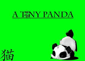 A Tiny Panda (Friends name :3 ) by ATinyKitty