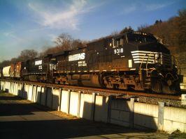 Norfolk Southern 9318 by Leadfoot17