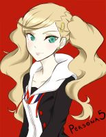 Anne Takamaki Persona 5 by Melody-in-the-Air