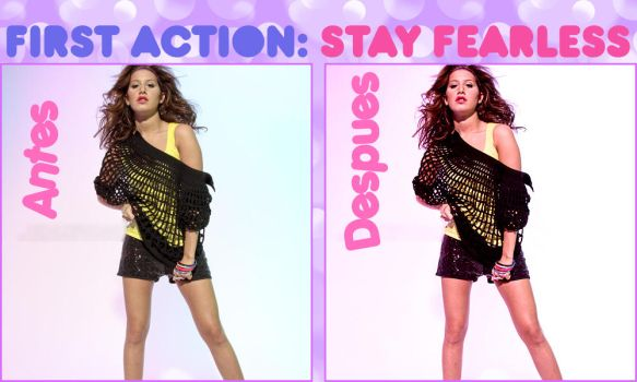 Action 1: StayFearless by justaboutladies