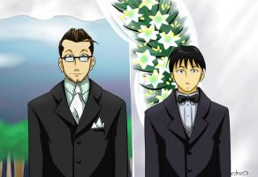 The Groom and Best Man by YuukiHikari
