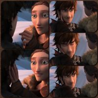 Valka And Hiccup Re-bond by TheBarfly001