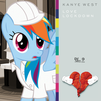 Kanye West - Love Lockdown (Rainbow Dash) by impala99