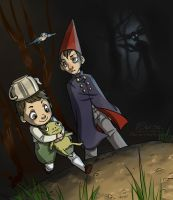 Over the Garden Wall by 10yrsy