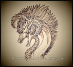 .:: Eldfjall the Earththunder - Sketch ::. by Windspirit-Aquaeris