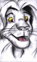 Charcoal Simba by KeepTheSecretMagic